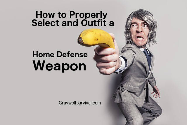 How to Properly Select and Outfit a Home Defense Weapon (Guest Post)