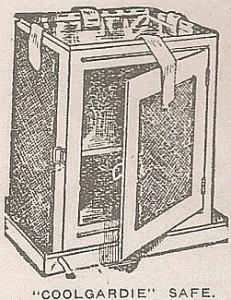 Coolgardie Safe evaporative cooler