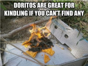 doritos kindling